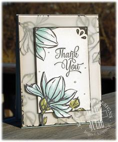 Thank you! Layered with vellum