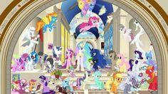 My Little Pony: FiM - Pinkie Pie, Friendship is Magic, Princess Luna, My Little Pony