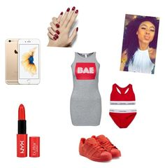 """Going out to a party"" by dreamchetavia ❤ liked on Polyvore featuring NLY Trend, Calvin Klein Underwear, adidas Originals, women's clothing, women's fashion, women, female, woman, misses and juniors"