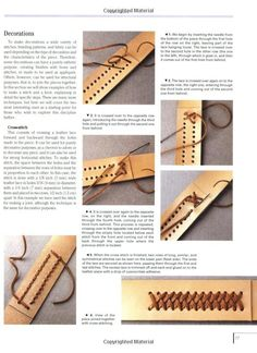 The Art and Craft of Leather: Leatherworking tools and techniques explained in detail: Maria Teresa Llado i Riba, Eva Pascual i Miro: 9780764160813: Amazon.com: Books