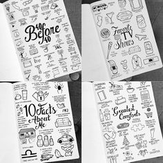 1,410 отметок «Нравится», 61 комментариев — BuJo_Blossoms (@bujo_blossoms) в Instagram: «Throwback to some of my favorite doodle lists. I want to keep making these, but I'm running out of…»