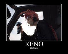 Reno from Final Fantasy VII by ~Varezart on deviantART