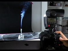 How to do Smoke Photography (with a Canon 550D, 580 EX II flash and a lens)