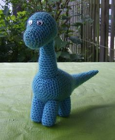Ravelry: Dudly Dinosaur pattern by Marleen Hartog