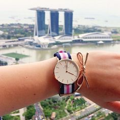 Do you accessorize or do you keep it clean? #danielwellington