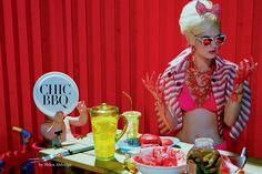 Anmari Botha by Miles Aldridge for Vogue Italia May 2013 - Touchpuppet