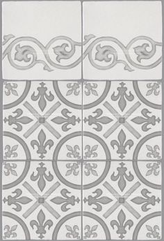 Decorative Wall Tile French Encaustic Decorative Wall Tile For Kitchens Baths And