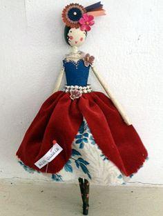 Fairy Miss Cherie by magpieandthewardrobe.