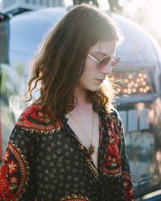 """(someone tagged this as """"the pattern on her top"""" and i'm just like no honey that is garret børns and he is definitely not a her)"""