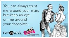 All is fair when it comes to chocolate. ;-) #skinnycow #skinnyism #quote