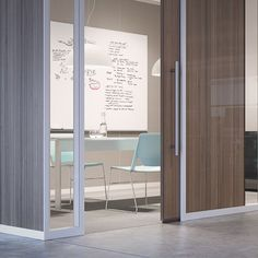 Haworth - Trivati's tri-channel design delivers the best visual and acoustical privacy in the market, earning even higher Sound Transmission Class (STC) ratings than traditional drywall and other demountable walls.