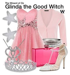 Inspired by Billie Burke as Glinda the Good Witch in The Wizard of Oz. Other Outfits, Dressy Outfits, Sexy Outfits, Disney Dresses, Disney Outfits, Glinda The Good Witch, Wicked Witch, Disney Inspired Fashion, Character Inspired Outfits