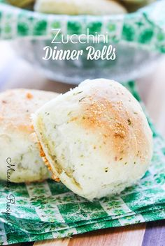 Zucchini Dinner Rolls