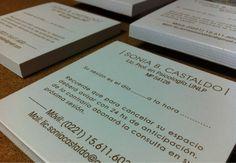 Parte de los últimos trabajos: diseño e impresión de talonarios de turnos