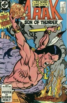 Arak, Son of Thunder (Volume) - Comic Vine