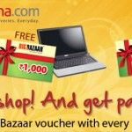 Free Big Bazaar Gift Voucher with every Product at Sulekha.com