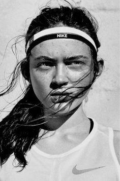 Sadie Sink for Nike