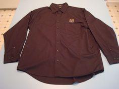 Men's Button-Down Long Sleeve Sleeve Solid Cotton Blend Regular Dress Shirts Black Button, Denim Button Up, Button Up Shirts, Irish Fans, Band Logos, Button Dress, Dress Shirt, Notre Dame, Football