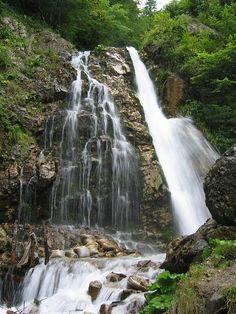 Cascada Urlatoarea este o cascadă formată de pârâul Urlătoarea, în apropierea orașului Bușteni, România, aflată la altitudinea de 1100m, în apropierea traseului turistic care duce din Bușteni spre Platoul Bucegi pe Valea Jepilor. Se poate ajunge și din localitatea Poiana Țapului. Turism Romania, Beautiful World, Country, Waterfalls, Places, Photography, Travel, Outdoor, Pictures