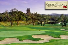 $28 for 18 Holes with Cart and Range Token at Cherry Island #Golf Course in Elverta near Sacramento, #California!