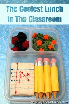 The Coolest Lunch In The Classroom – My adventures with fun-food, crafts, and whatnot
