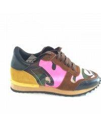 Valentino sneakers, Heren, Groen