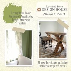The Old Lucketts Store Blog: Paint-spiration for the March Design House