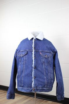 Coats, Jackets & Vests Women's Clothing Romantic Vtg Lauren Ralph Lauren Denim Trucker Jean Jacket Pm Petite Medium Over-sized