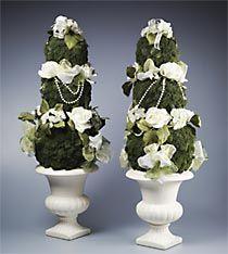 Elegant Easter Garden Topiary
