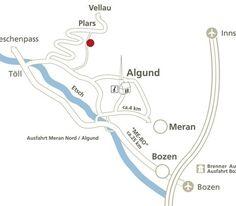 Lage und Anreise - Hotel Avidea Algund