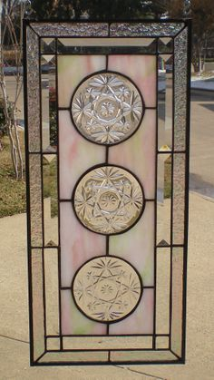 New vintage stained glass door Ideas Stained Glass Door, Stained Glass Designs, Stained Glass Panels, Stained Glass Projects, Fused Glass Art, Stained Glass Patterns, Mosaic Glass, Glass Jars, Tiffany