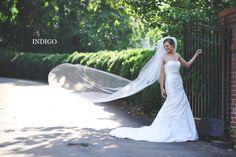 Charlotte Wedding Photographers - Indigo Photography Blog: Kristin's Bridal Session, The Duke Mansion, Charlotte, NC