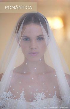 Casamento e Beleza Noiva - Penteado com mantilha
