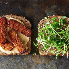 Smoky Tempeh and Hummus Sandwiches Recipe on Food52 recipe on Food52