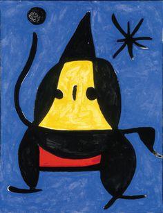 """Joan Miro - """"Sans tire"""" - 1978"""