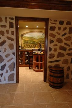 wine cellar- check, check