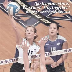 Come watch the K-State Volleyball team show off all of their hard work and dedication this season! Their next home game is Wednesday, September 5th at 6 p.m. at Ahearn Field House.