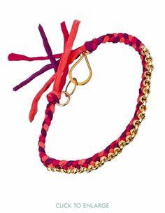 Want. Silk Braided Bracelet Ariel Gordon