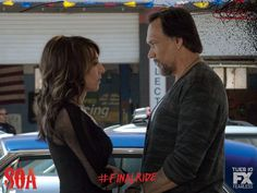"""Come away with me."" Is there a life outside of Charming for Nero and Gemma? #FinalRide"