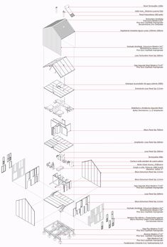 Image 8 of 13 Gallery Contest Honorable Mention in designing sustainable social housing in Patagonia / Aysen, Chile. Architecture Graphics, Urban Architecture, Architecture Portfolio, Concept Architecture, Architecture Drawings, Architecture Details, Social Housing Architecture, Architecture Colleges, Architecture Tools