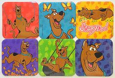 Scooby Doo Refrigerator Magnets, Party Favors, 6 Fridge Magnets Set, Hanna-Barbera Cartoon Network by EverydayWomenJewelry on Etsy https://www.etsy.com/listing/272227782/scooby-doo-refrigerator-magnets-party