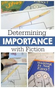 Determining Importance with Fiction - This Reading Mama