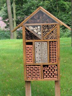 Fabiquer un hôtel à insectes