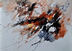 abstract landscape watercolor - Google Search