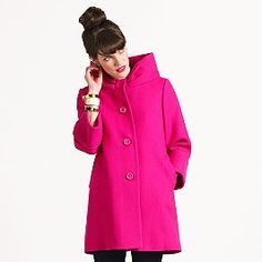 ZOMG this coat makes me weak in the knees! Can I please register at Kate Spade??