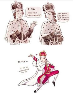 #hamilton #comic #fanart #kinggeorge3