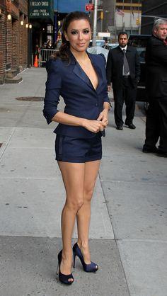 Vivacious, Naughty and Wild - Eva Longoria Best Flirty Fashion Styles #beautyfashion