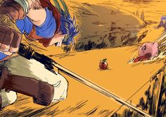 Kirby vs Ike vs Marth Super Smash bros スマブラ落書き