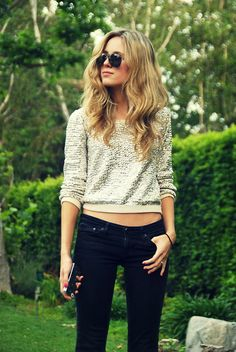 Adriano Goldschmied Jeans, By Peter Jensen Sequin Sweater, Marc By Marc Jacobs I Phone Case, Ray Ban Sunglasses