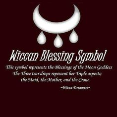 Wiccan symbol for a blessing from the moon goddess Wiccan Witch, Wicca Witchcraft, Wiccan Altar, Magick Spells, Candle Spells, Wiccan Wedding, Wedding Altars, Symbols And Meanings, Mayan Symbols